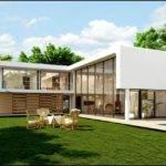 Shaped Modern House Plans Plan