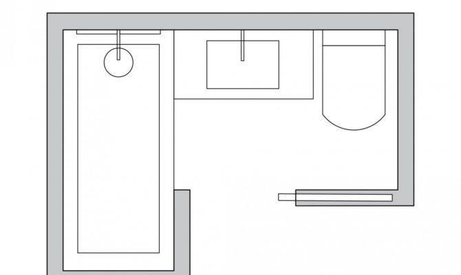Shaped Small Bathroom Layout Home Decor