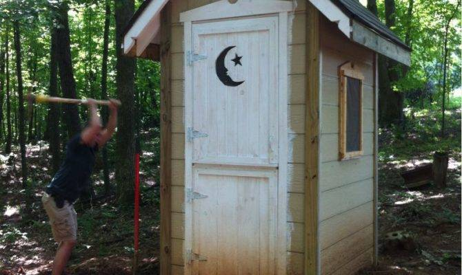 Share Your Outhouse Pics Small Cabin Forum