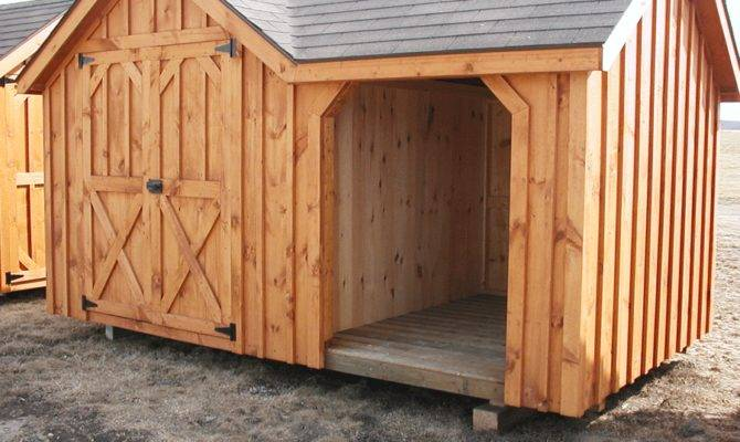 Shed Design Plan Building Firewood Blueprints