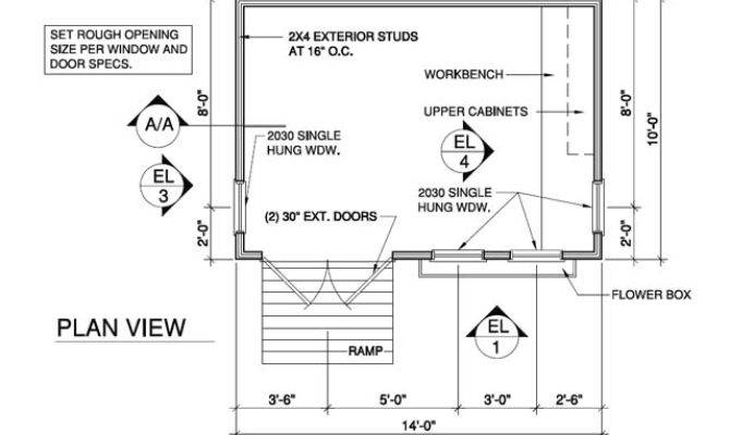 Shed Floor Plans Anyone Can Build