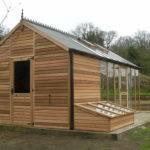 Shed Greenhouse Plans Sloped Roof Men