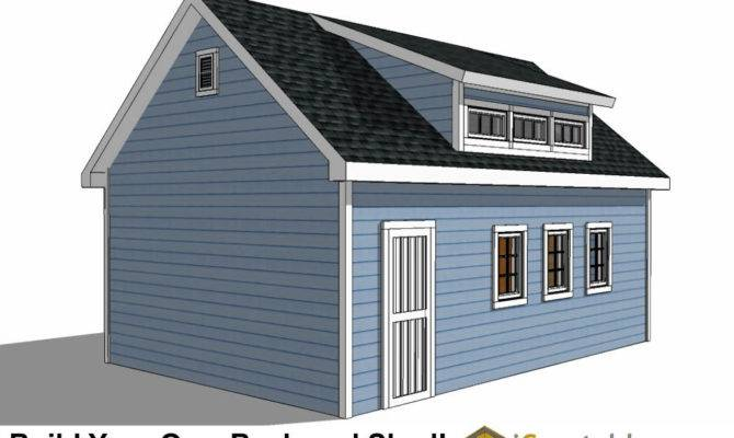 Shed Plans Dormer Icreatables