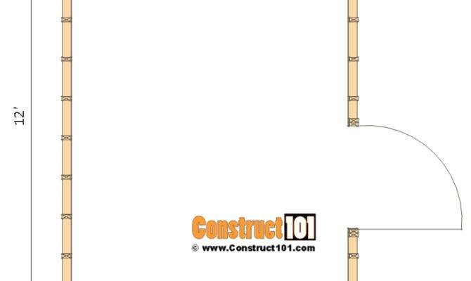 Shed Plans Gable Step Construct