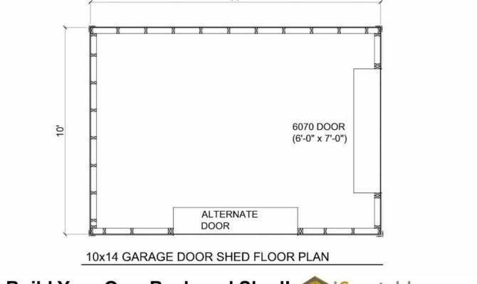 Shed Plans Garage Door Icreatables