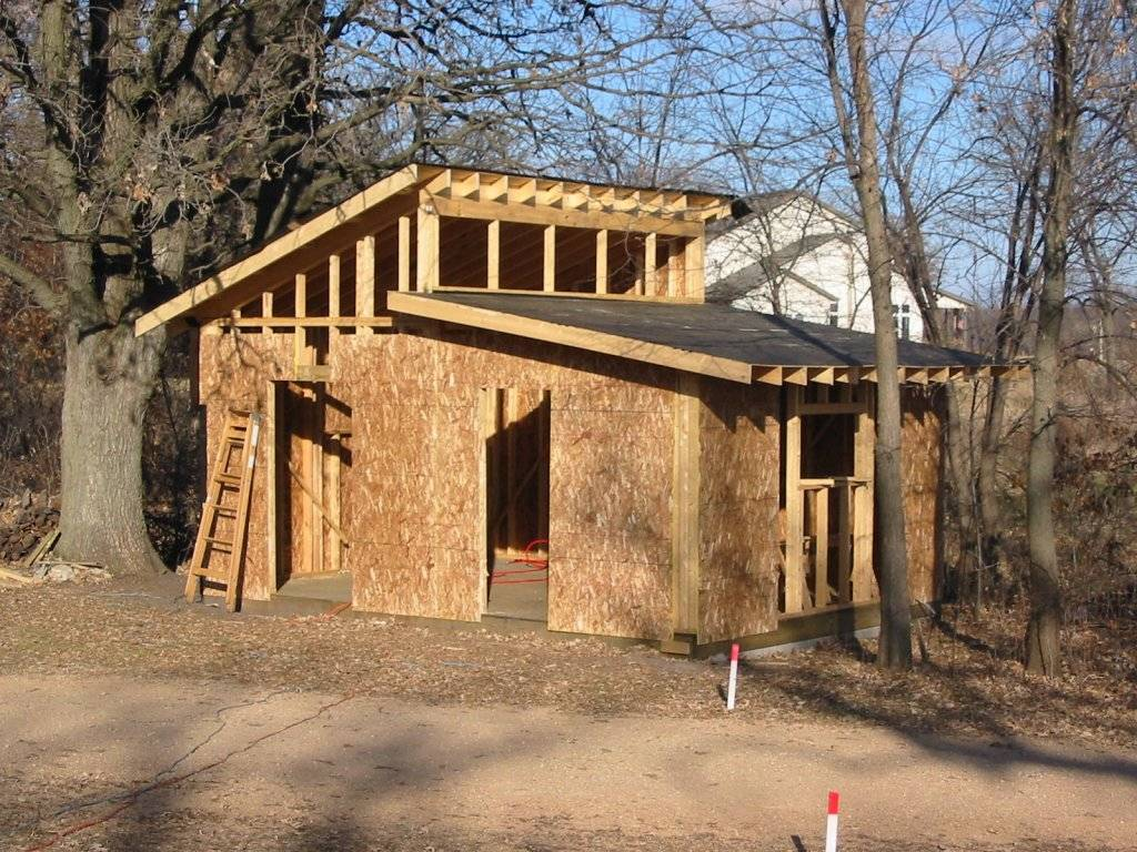 Shed Roof Building Rafters Plans Home Plans Blueprints 71684