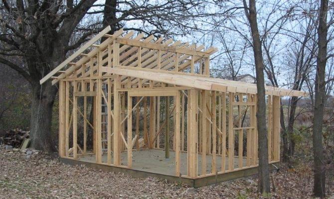Shed Roof Design Plans