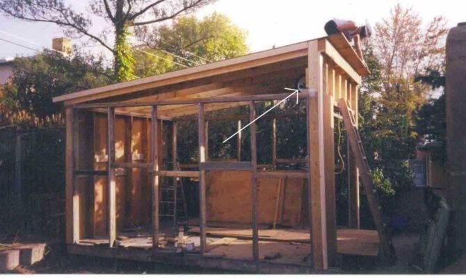 Shed Roof Garage Plans
