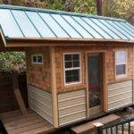 Shed Roof Standard Green Metal