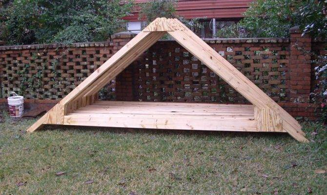 Shed Roof Truss Design Blueprints Howtodiy Home Plans Blueprints 35395