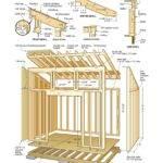 Sheds Blueprints Wooden Garden Shed Plans Compliments
