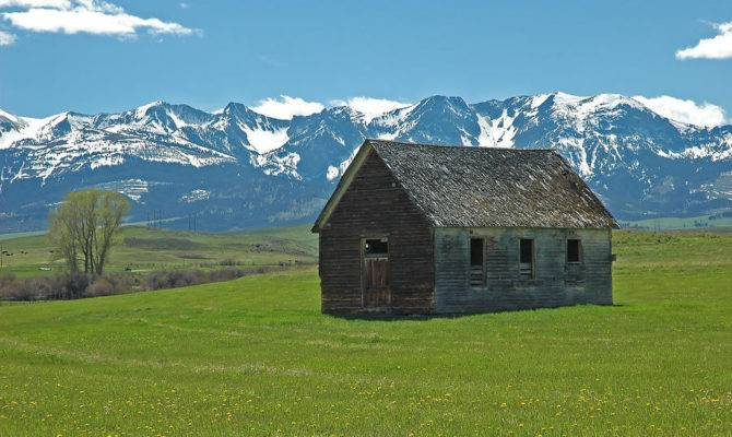 Shields Valley Abandoned Farm Ranch House Bruce Gourley