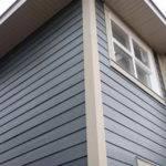 Shingle Siding Installation Wood House