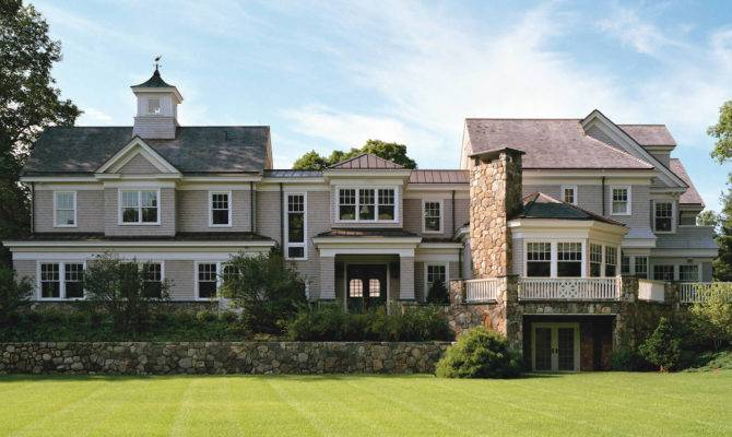 Shingle Style Architecture Turn Century Allure