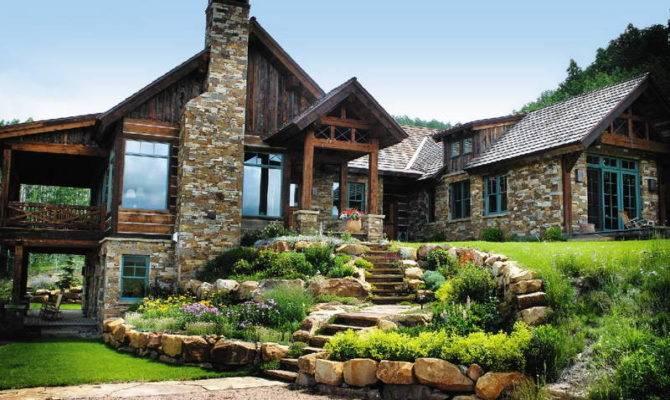 Shingle Style House Plans Stone Wall