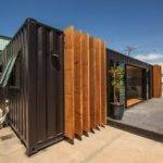 Shipping Containers Converted Into Nice Weekend House