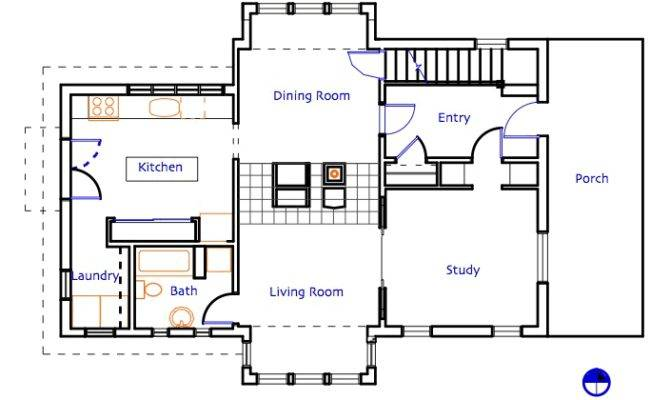 Shops Living Quarters Plans