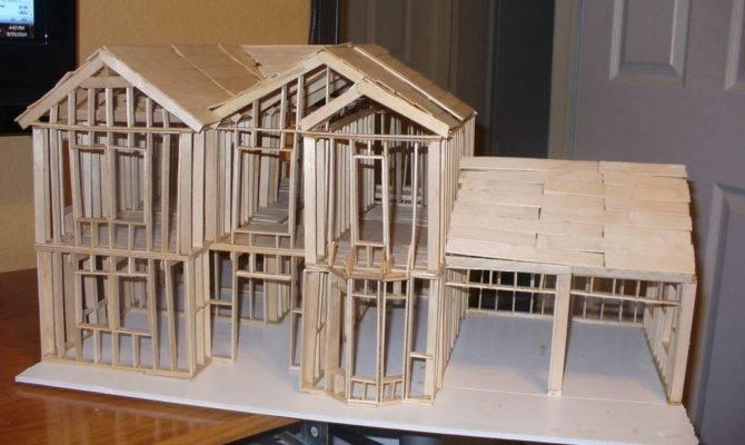 Show Build Scale Model House Way Cut