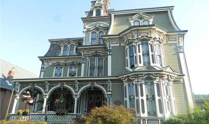 Showstopping Second Empire Victorian Circa Old Houses