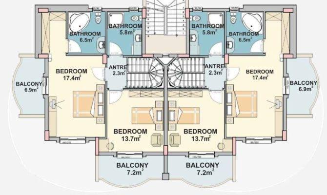 Side Complex Front Plan Dublex Ste