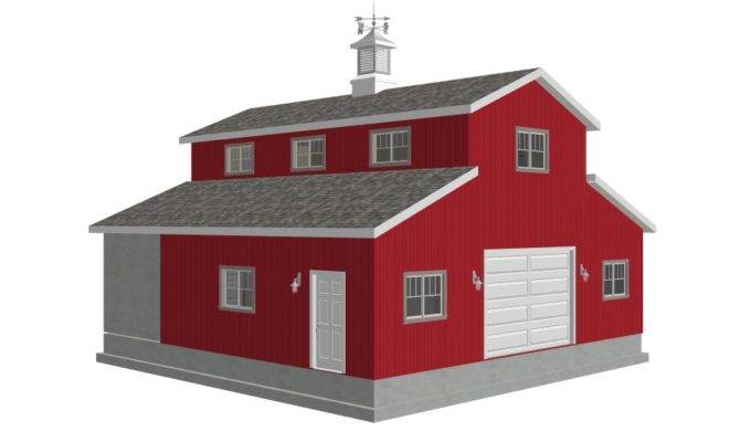 Sides Garage Plan House