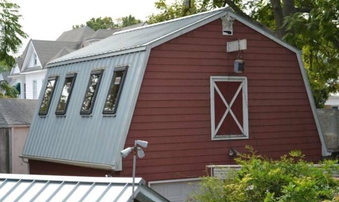 Silver Metal Roof Mansard Style Barn Ideas House Pinte