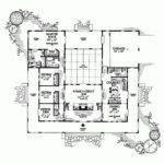 Similar Hacienda Style Floor Plan Architecture Pinterest