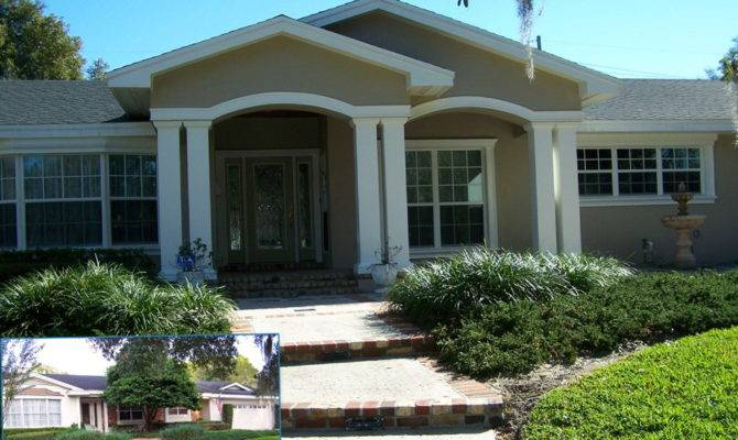 Simple Adding Porch Ranch Style House