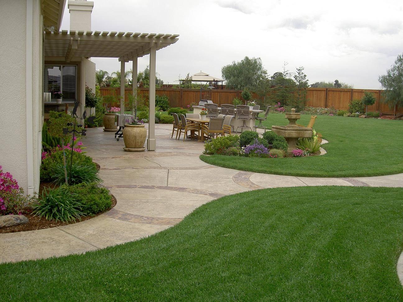 Simple Backyard Garden Ideas Photograph Home Plans Blueprints