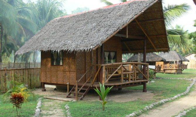 Simple Bamboo House Design Philippines Modern Plan