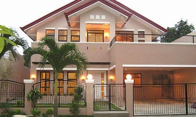 Simple Beautiful House Designs Homes Floor Plans
