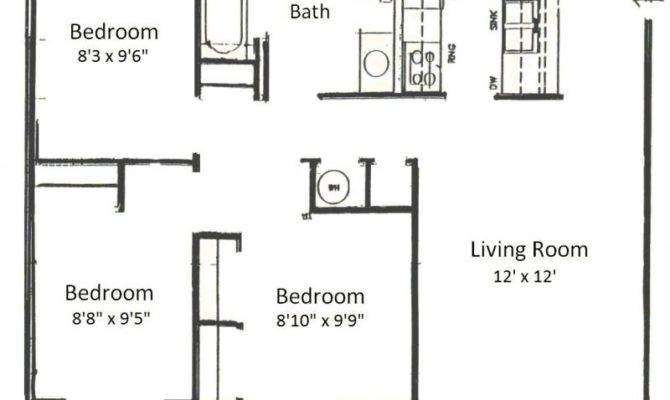 Simple Bedroom Floor Plans Homes