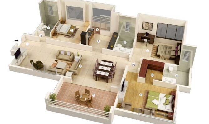 Simple Bedroom House Plans Designs Ideas