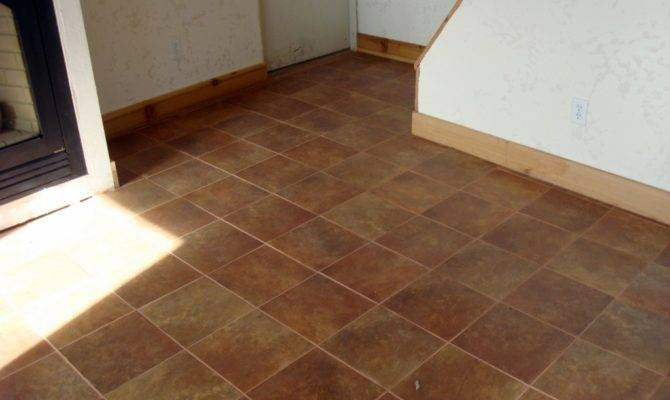 Simple Brown Cottage Flooring Can Decor White