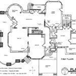 Simple Building Blueprints House