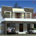 Simple Contemporary Style Kerala House Elevation Architecture