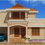 Simple Double Storied House Elevation Indian Plans