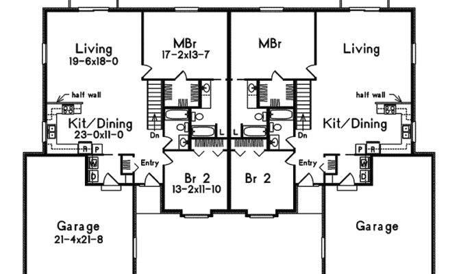 Simple Duplex Floor Plans Joy Studio Design