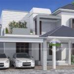 Simple Elegant Modern House Kerala Home Design