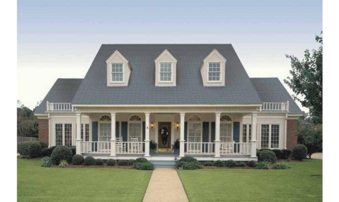 Simple Farmhouse Plans Eplans House Plan Symmetry
