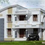 Simple Flat Roof Home Design Feet Kerala