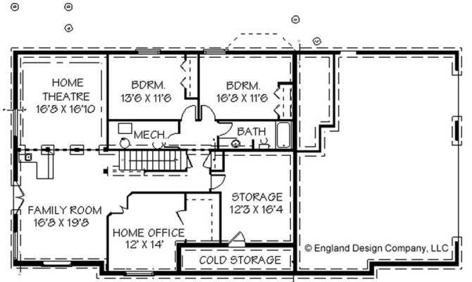 Simple Floor Plans Basement Plan