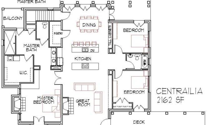 Simple Floor Plans Bedroom House Duplex