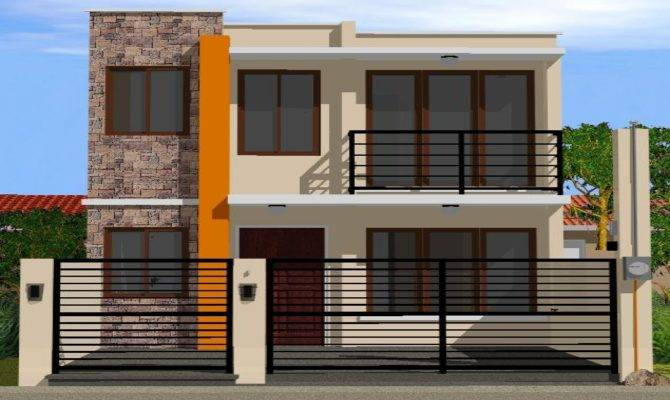 Simple House Designs Storey Plan