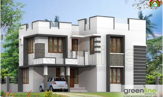 Simple House Elevation Square Feet Architecture Kerala
