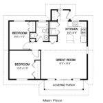 Simple House Floor Plan Measurements Chase