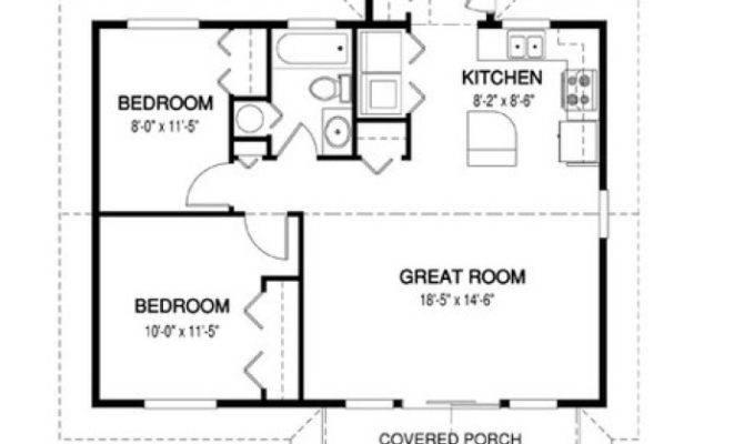 Simple House Floor Plan Measurements Plans