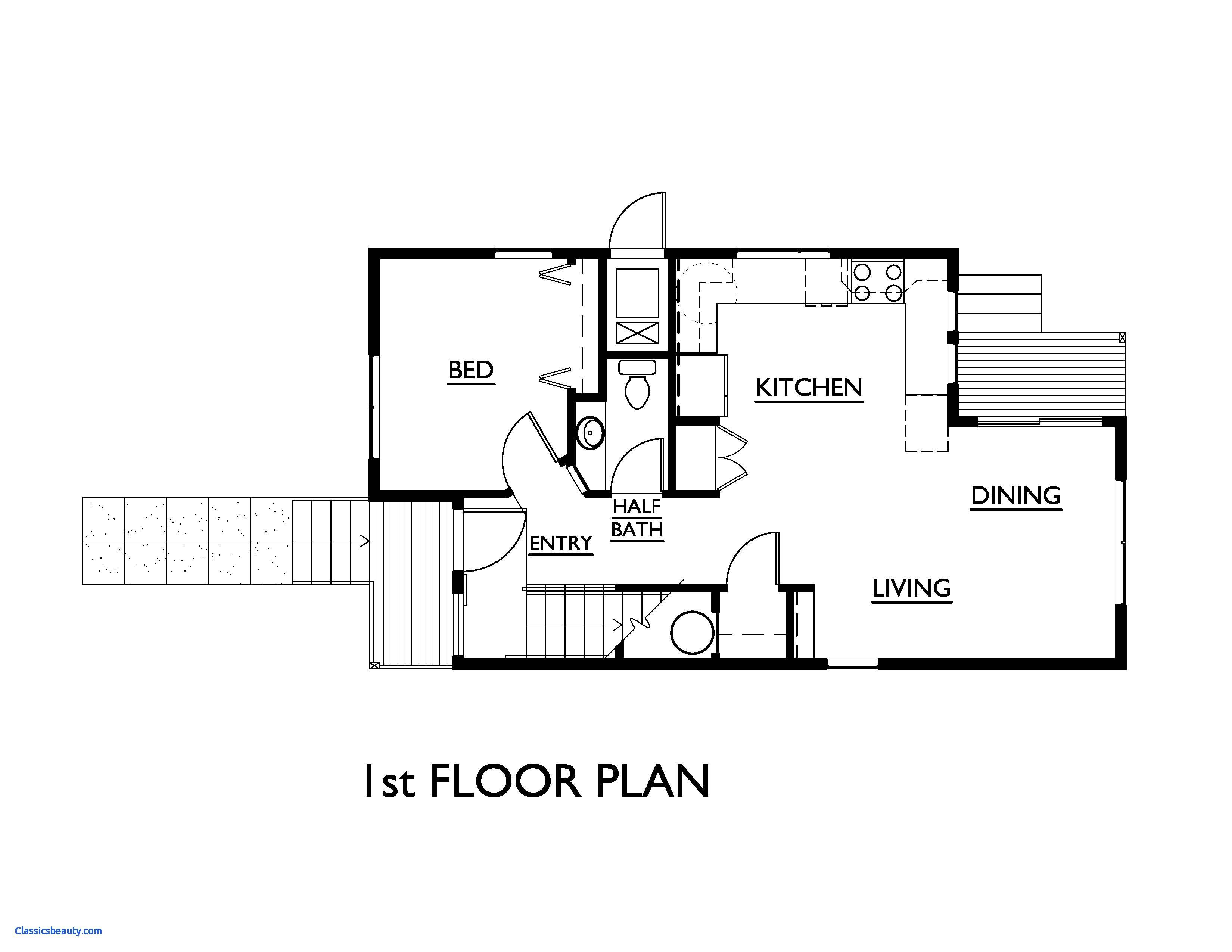 Simple House Floor Plan Home Plans