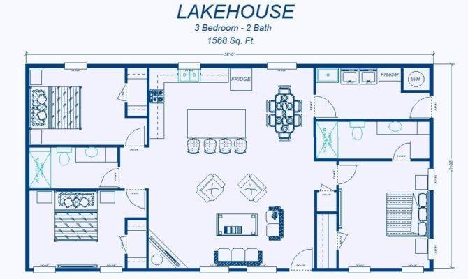 Simple House Plans Open Floor Plan Descriptions