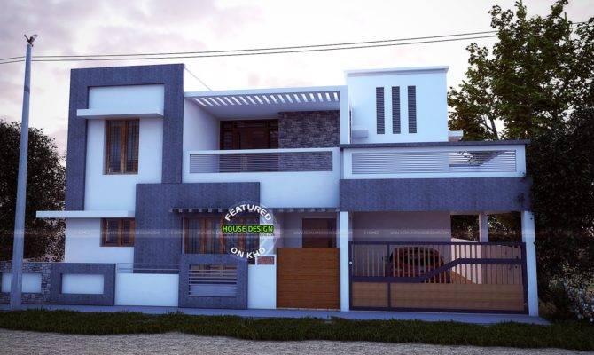 Simple House Plans Tamilnadu  Front Design  Home  Plans